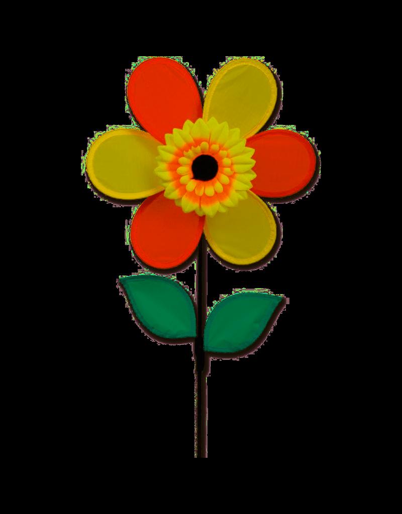 """Premier Kites Autumn Sunflower 12"""" Flower Spinner"""