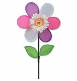 """Premier Kites Pink Daisy 12"""" Flower Spinner"""