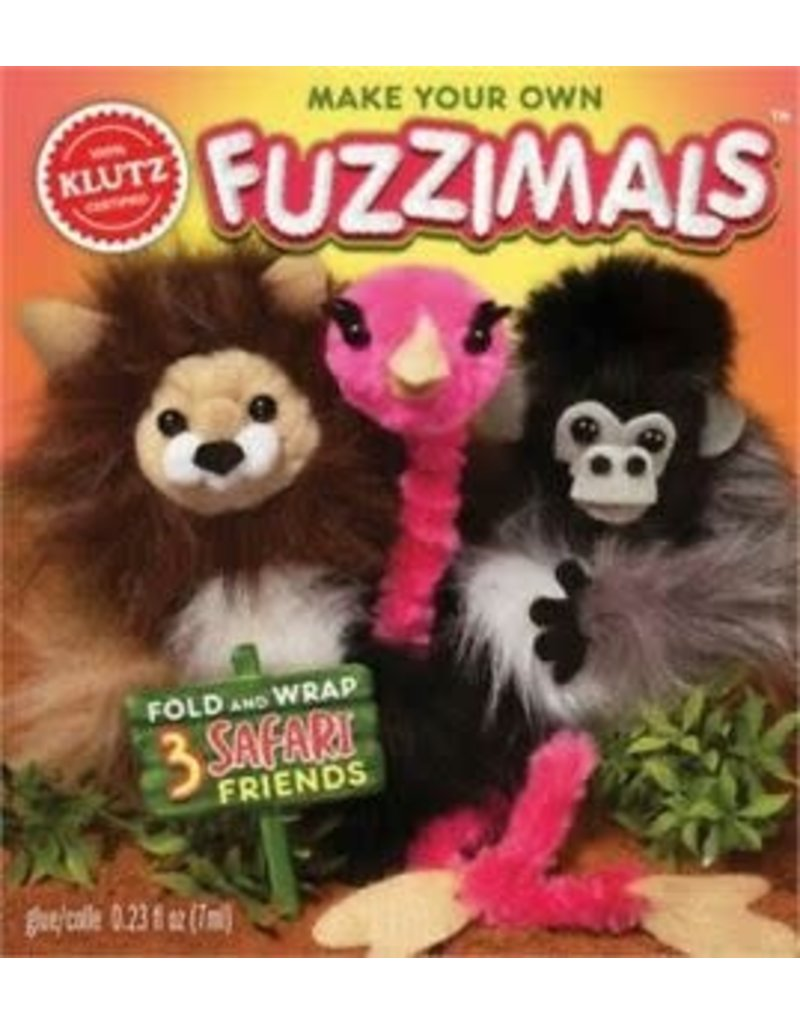 Klutz Klutz Make Your Own Fuzzimals