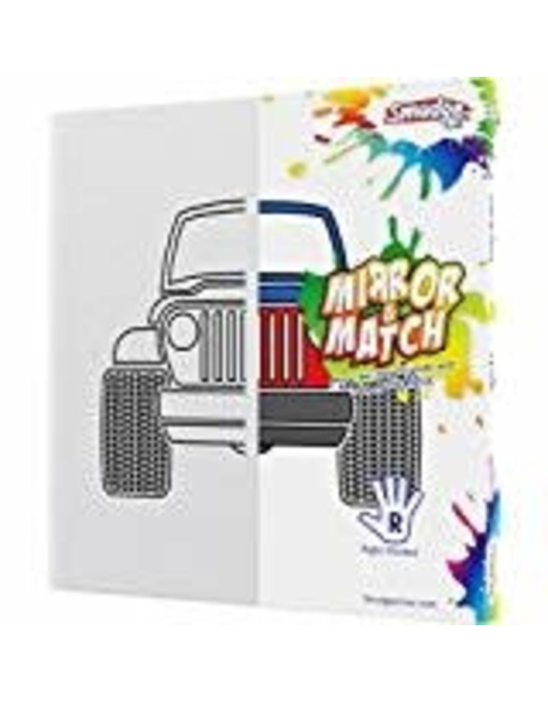 Smudge Art Craft Kit Smudge Art - Truck - Right Handed