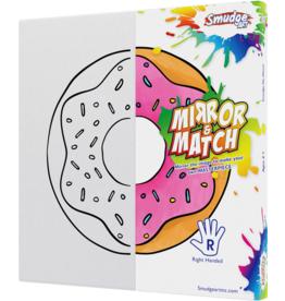 Smudge Art Craft Kit Smudge Art - Donut - Right Handed