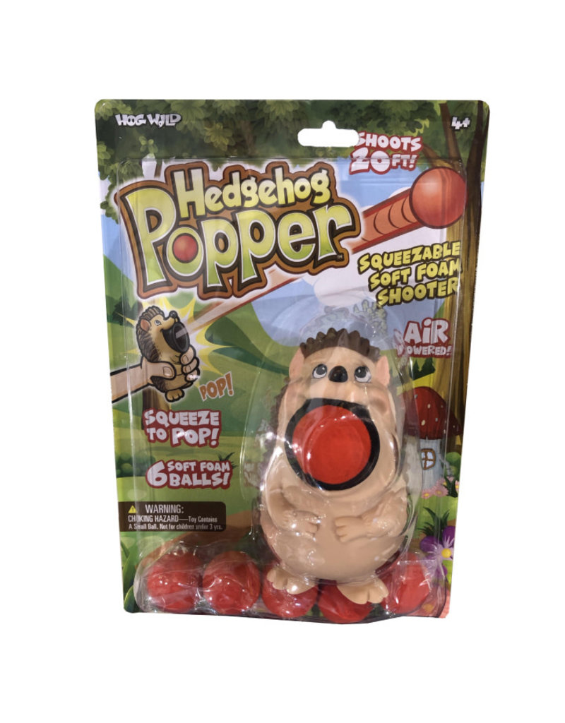 Hog Wild Hedgehog Popper