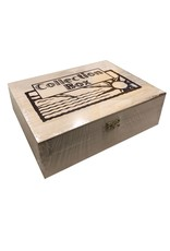 Squire Boone Village Wood Collection Box