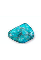 Squire Boone Village Rock/Mineral - Tumbled Turquoise Cobra Stone