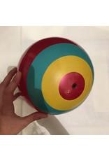 FS USA Inflate-A-Ball Red, Blue, Yellow Bullseye