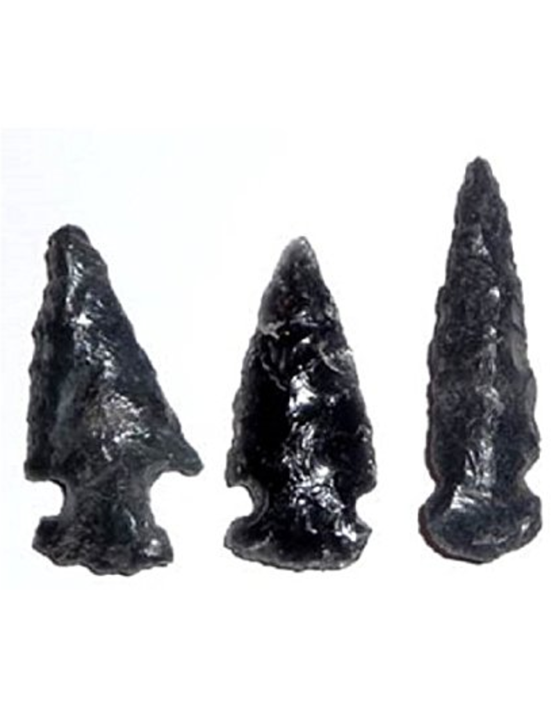 Squire Boone Village Obsidian Replica Arrowhead