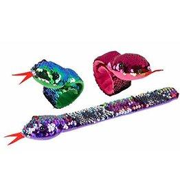 Wild Republic Snap Bracelet - Sequin Snake (Assorted)