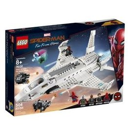 LEGO LEGO Spiderman Stark Jet and the Drone Attack