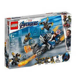 LEGO LEGO Avengers Captain America : Outriders Attack