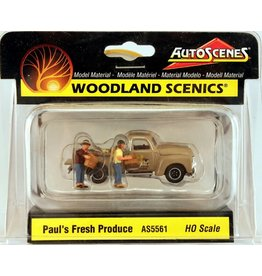 Woodland Scenics Hobby HO Scale Paul's Fresh Produce - Assembled - AutoScenes(R)