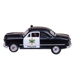 Woodland Scenics HO Scale Police Car