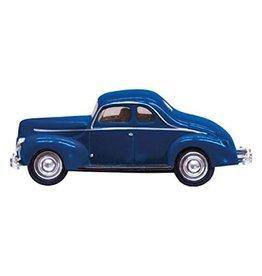 Woodland Scenics HO Scale Blue Coupe