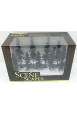 "Bachmann Hobby Bachmann Scene Scapes - Conifer Trees (3-4"")"