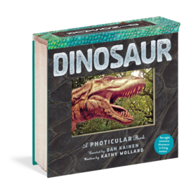 Workman Publishing Co Photicular Book - Dinosaur