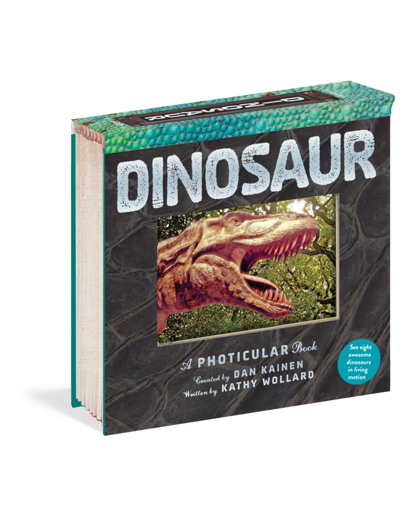 Workman Publishing Co Photicular Book - Dinosaur