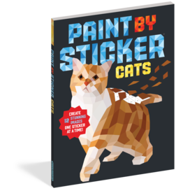 Workman Publishing Co Paint By Sticker - Cats