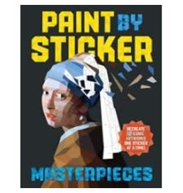 Workman Publishing Co Paint By Sticker - Masterpieces