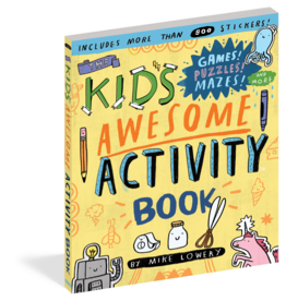 Workman Publishing Co Book - Kids Awesome Activity Book