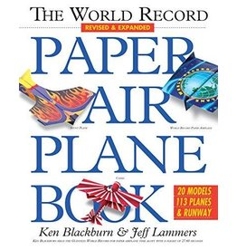 Workman Publishing Co Book - World Record Paper Airplane
