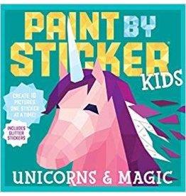 Workman Publishing Co Paint by Sticker Kids Unicorns & Magic