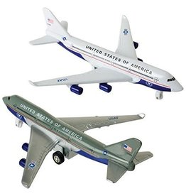 Toysmith Toysmith Pullback Plane - Air Force One (Assorted)