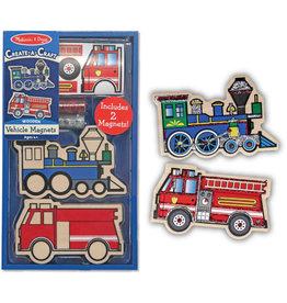 Melissa & Doug Vehicles Magnets