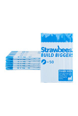 Schylling Toys Strawbees Straws - Blue