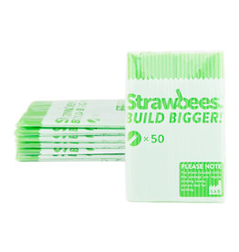 Schylling Toys Strawbees Straws - Green