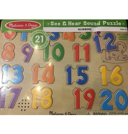 Melissa & Doug Sound Puzzle - Numbers