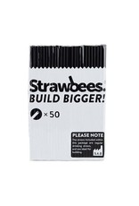 Schylling Toys Strawbees Straws - Black