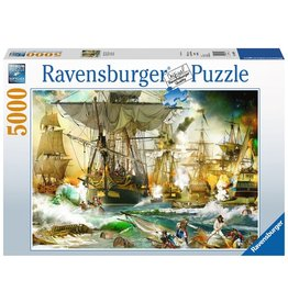 Ravensburger Ravensburger Puzzle - Battle on the High Seas - 5000 Piece