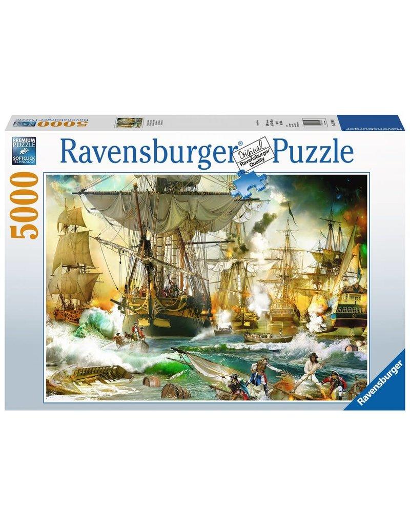 Ravensburger Ravensburger Puzzle - Battle on the High Seas - 5000 Piece