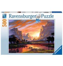 Ravensburger Ravensburger Tranquil Sunset 500 pc Puzzle
