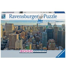 Ravensburger Ravensburger Puzzle - View Over New York (Panorama) - 2000 Piece