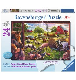 Ravensburger Ravensburger Animals of Bells Farm 24 Pc. Puzzle