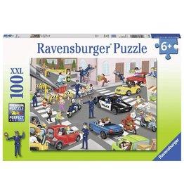 Ravensburger Ravensburger Police on Patrol 100 pc Puzzle