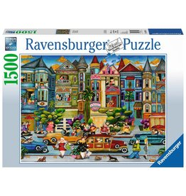 Ravensburger Ravensburger Puzzle - The Painted Ladies - 1500 Piece