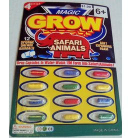 Rhode Island Novelty Magic Growing Animal Capsules