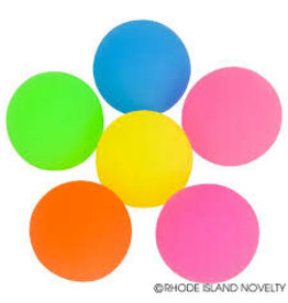 Rhode Island Novelty Bouncy Ball - Large Solid Color (Assorted)