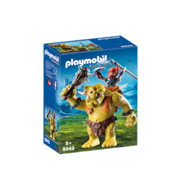 Playmobil Playmobil Knights Giant Troll with Dwarf Fighter