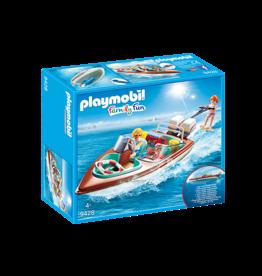 Playmobil Playmobil Family Fun Speedboat with Underwater Motor