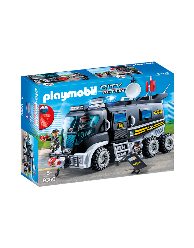Playmobil Playmobil Tactical Unit Truck