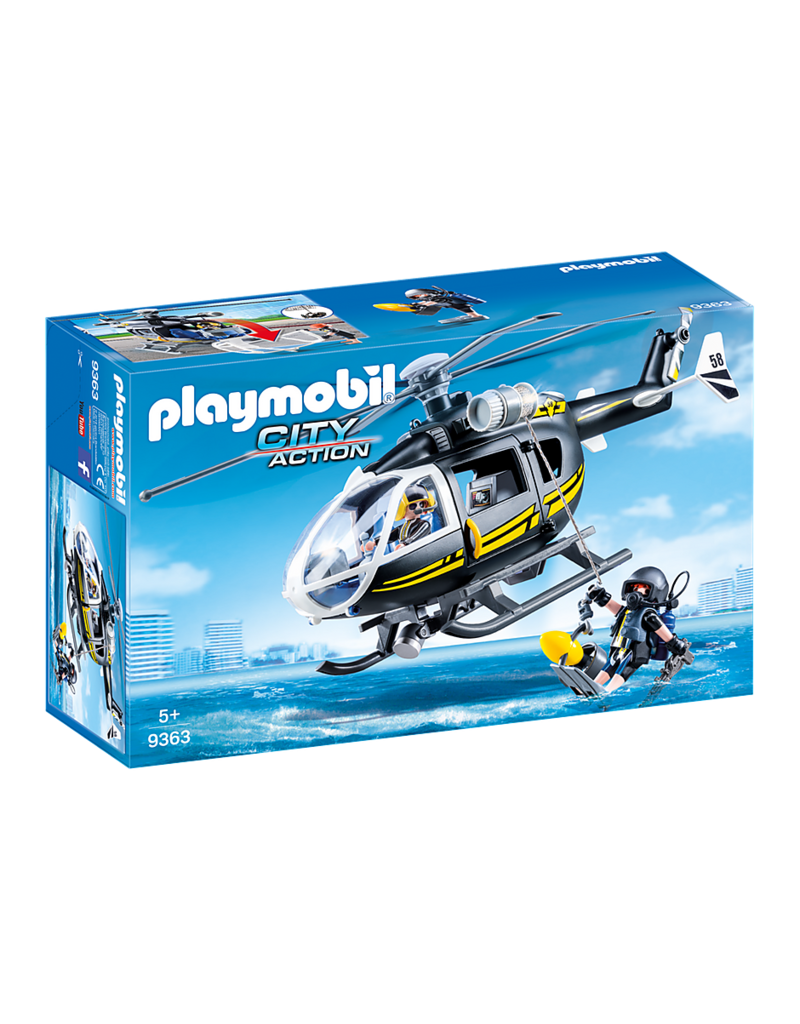 Playmobil Playmobil Tactical Unit Helicopter
