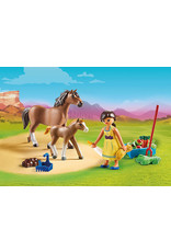 Playmobil Playmobil Pru with Horse and Foal