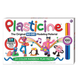 Kahootz Art Supplies - Plasticine - 24 Color Rainbow Play Pack