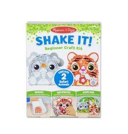 Melissa & Doug Craft Kit Shake It! Safari Animals