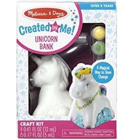 Melissa & Doug Craft Kit Created by Me! Unicorn Bank