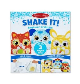 Melissa & Doug Craft Kit Shake It! Deluxe Pets Beginner Craft Set