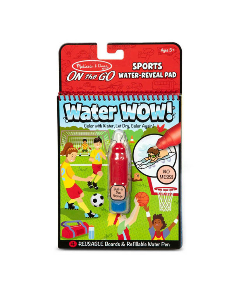 Melissa & Doug On-the-Go Water Wow! - Sports