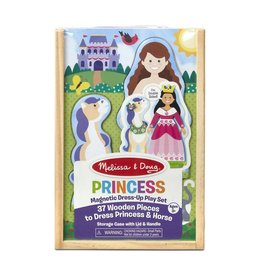 Melissa & Doug Magnetic Dress-up Play Set - Princess